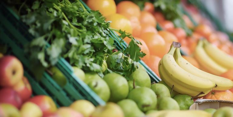 Winkel biologische groente en fruit